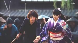 Being chased by random samurai brandishing swords (although, WHY, I will never understand!)