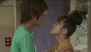 Mizobata Junpei as Hatano Shuji & Kanjiya Shihori as Ebina Mai - they make such a CUTE couple, I can't help rooting for them
