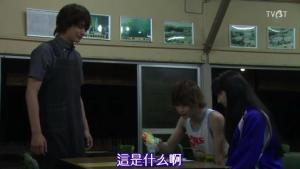 "Yamato, from around the corner, goes, ""OOooh, that looks yummy!"" and promptly plonks himself down and helps himself to the first bite!!! THE LOOK ON ASUKA'S FACE!! IS MAJOR FAIL lol"